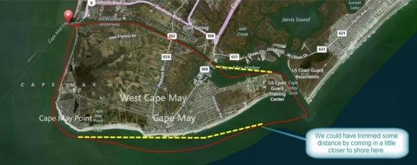 Kayaker GPS Track